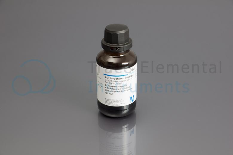 <p>Standard, Chlorine, 4-Chlorophenol in water, 200 mg/l</p>
