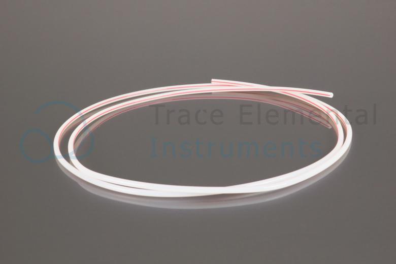 <p>Tubing 1/8 PTFE, red stripe</p>