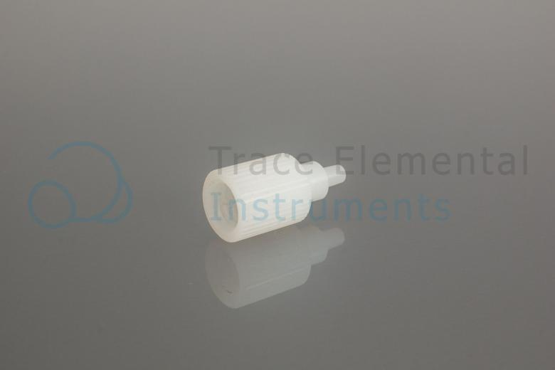 <p>Column seal bushing  with luer fitting, for AOX/TOX column</p>