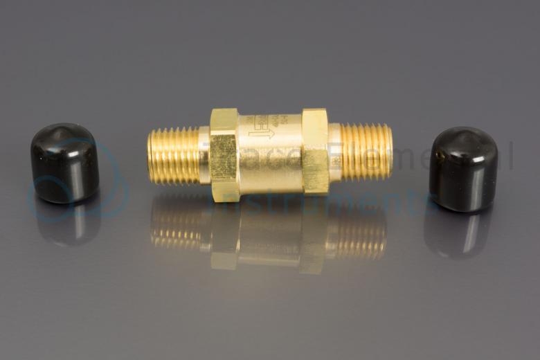 <p>Check valve, SS, 1/4  NPTM, 3000 psi, safety valve Xprep</p>