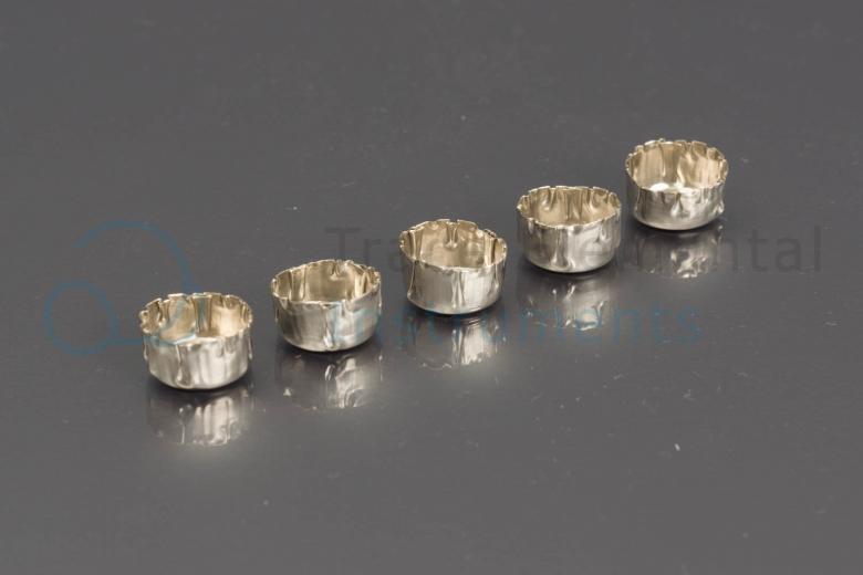 <p>Nickel sample cups, 5 pcs</p>
