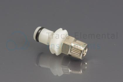 <p>Quick connector white male, Argon supply</p>