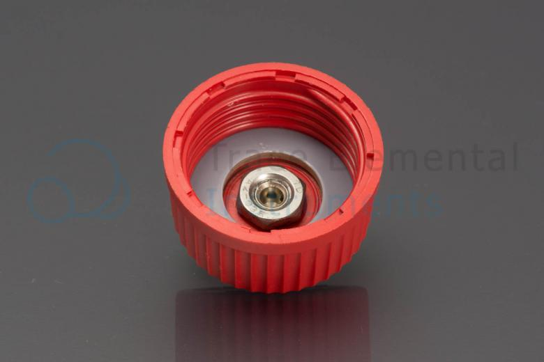 <p>Screwcap GL-45 with male quick connector, Xprep 3</p>