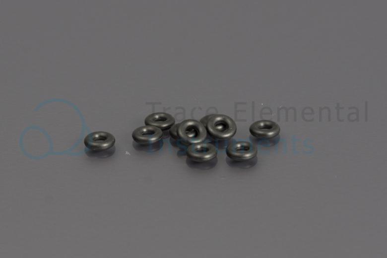 <p>O-ring black, FBA, 1.78 mm OD, pk= 10, column holder, Xprep</p>