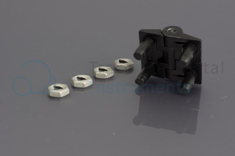 <p>Hinge black, 1200 & older 3000 series</p>